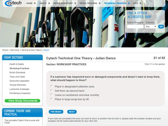 Cytech online exam