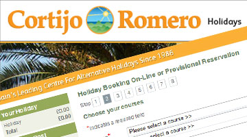 Cortijo Romero Holiday eCommerce