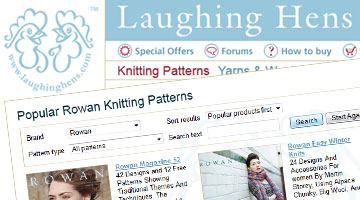 Laughing Hens Knitting eCommerce